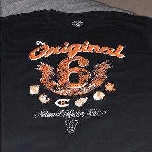 The original 6 hockey shirt